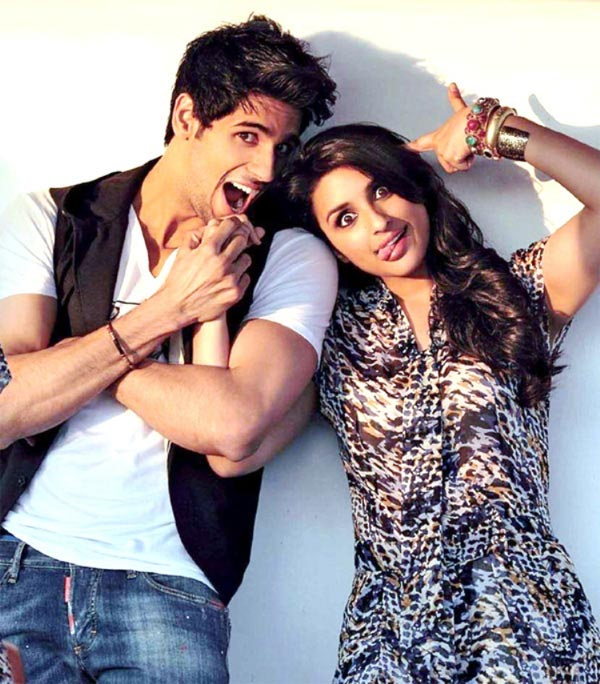 Siddharth Malhotra with Parineeti Chopra in Hasee Toh Phasee