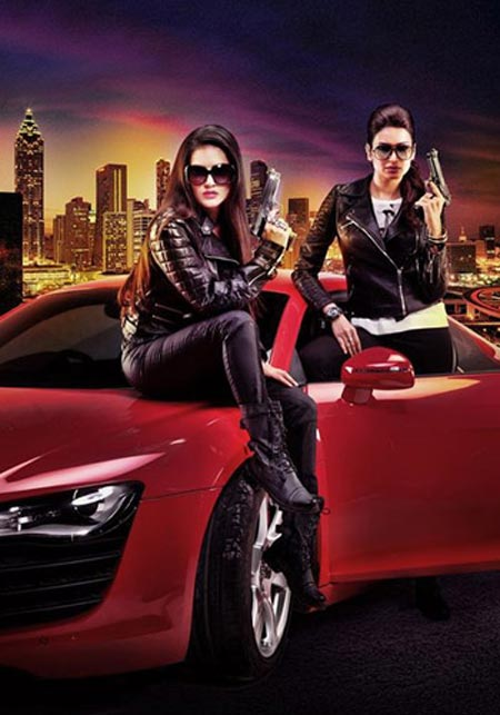 Sunny Leone and Karishma Tanna in Tina and Lolo