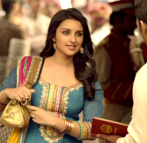 Parineeti Chopra in Shuddh Desi Romance.