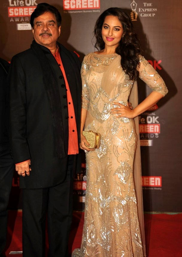 Shatrughan and Sonakshi Sinha