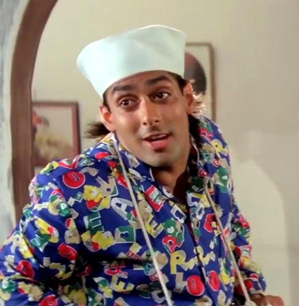 Salman Khan in Andaz Apna Apna