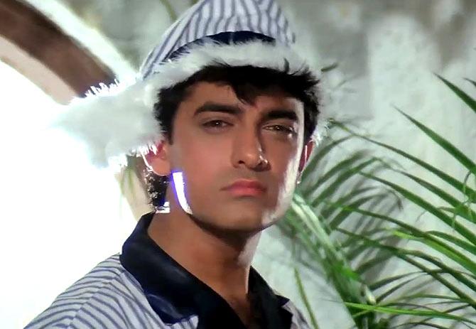 Aamir Khan in Andaz Apna Apna