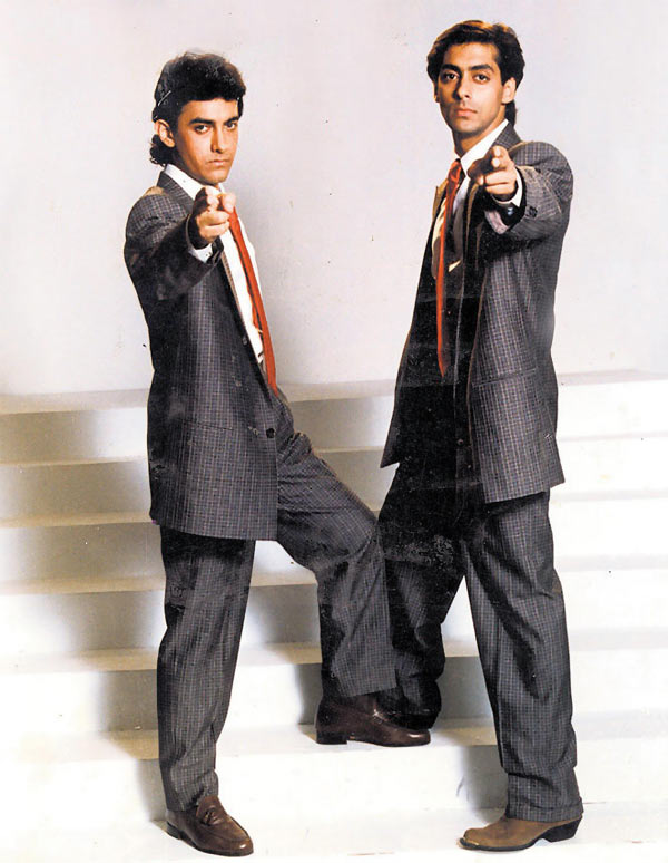 Aamir and Salman Khan in Andaz Apna Apna