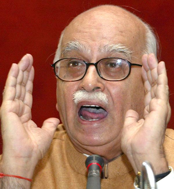 Lal Kishenchand Advani.