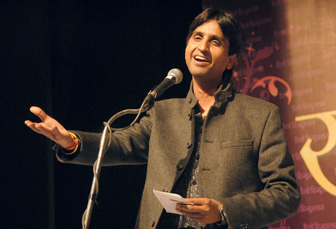 Kumar Vishwas, the AAP candidate for Amethi.