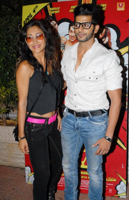 Teejay Siddhu and Karanveer Bora