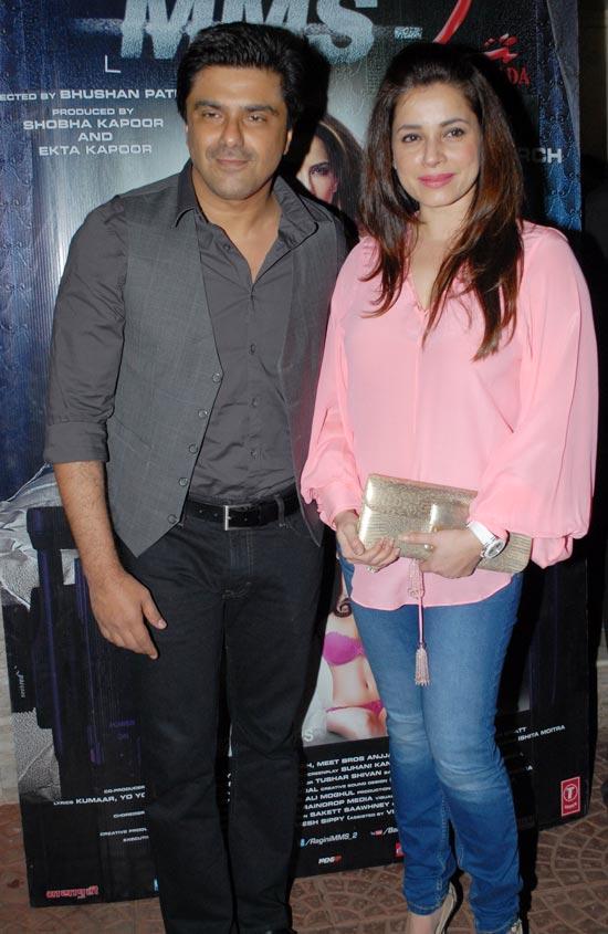 Sameer Soni and Neelam Kothari