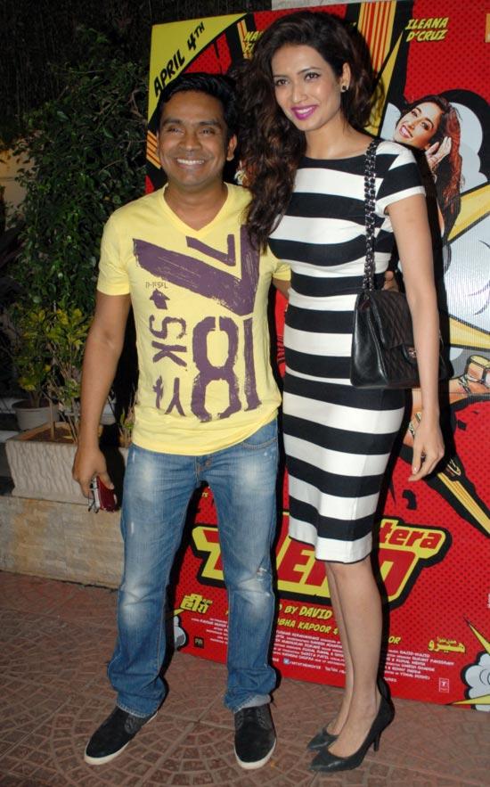 Mushtaq Sheikh and Karishma Tanna