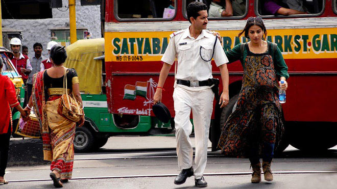 Parambrata Chaterjee and Vidya Balan in Kahaani