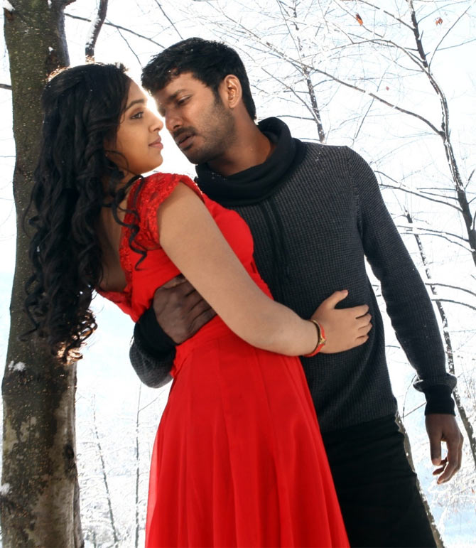 A scene from Naan Sigappu Manithan