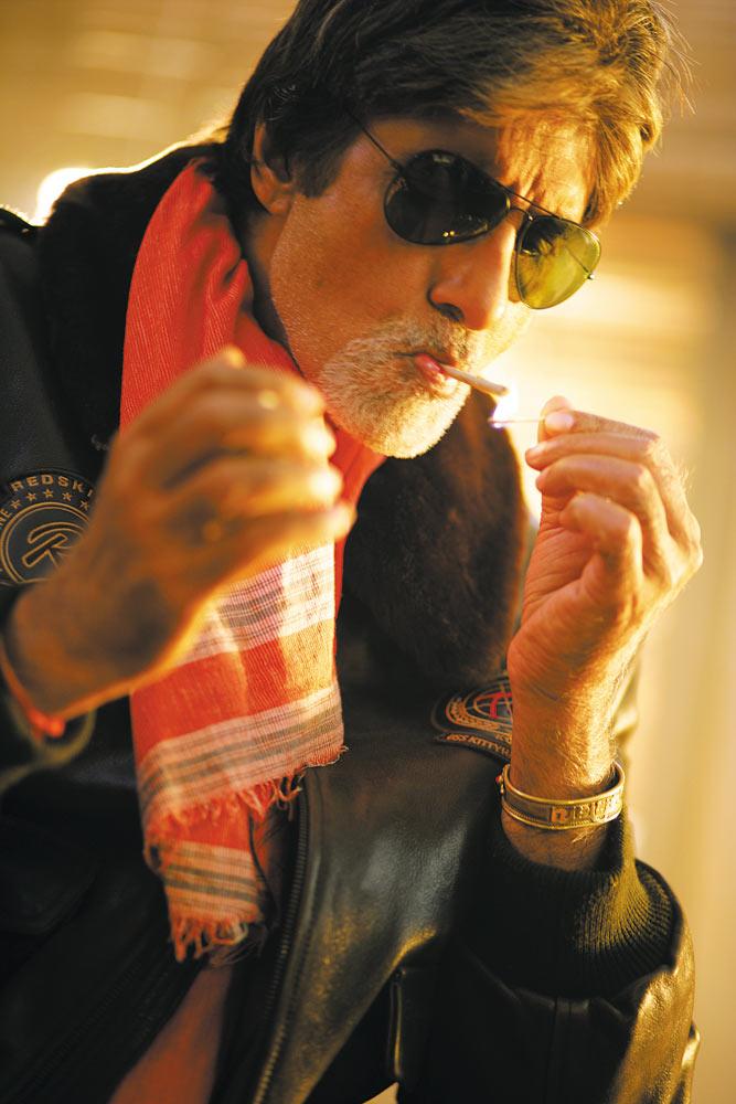 Amitabh Bachchan in Bunty aur Babli