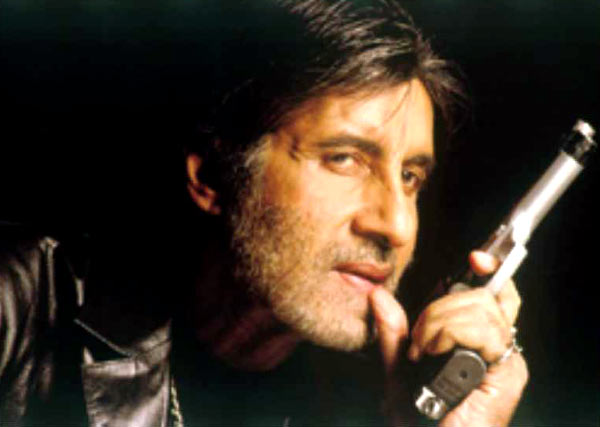 Amitabh Bachchan in Black