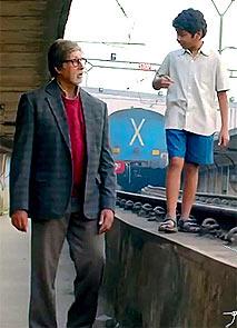 Amitabh Bachchan and Par
