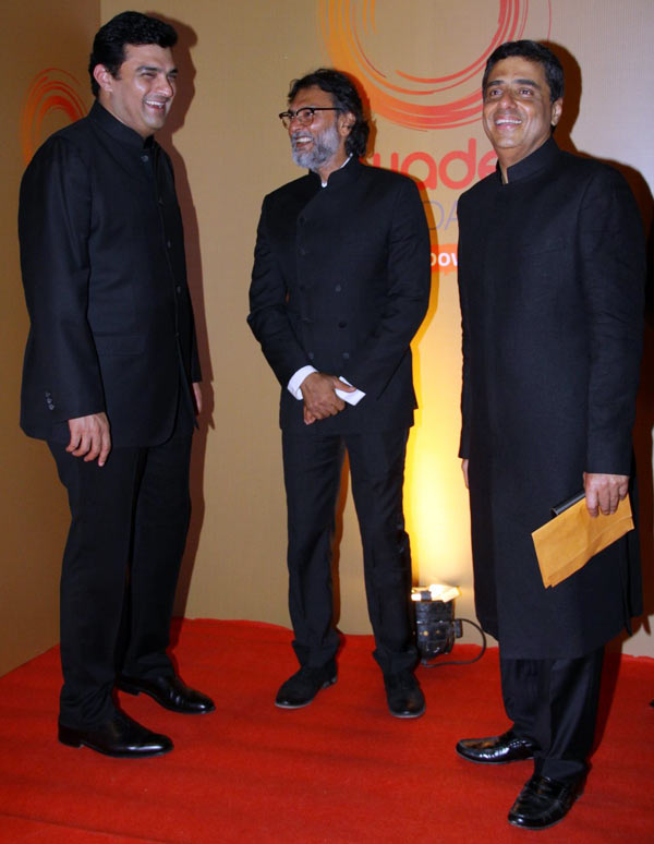 Siddharth Roy Kapur, Rakeysh Omprakash Mehra and Ronnie Screwvala