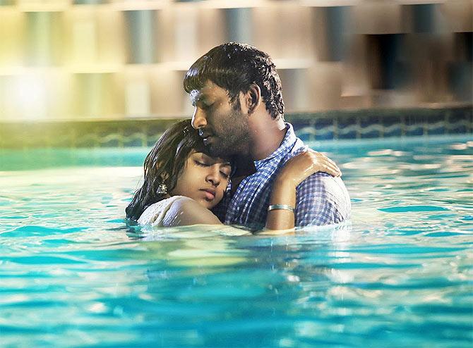 Manithan movie scenes Vishal and Lakshmi Menon in Naan Sigappu Manithan