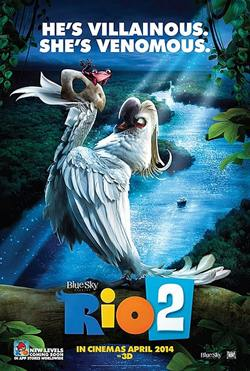 Movie poster of Rio 2