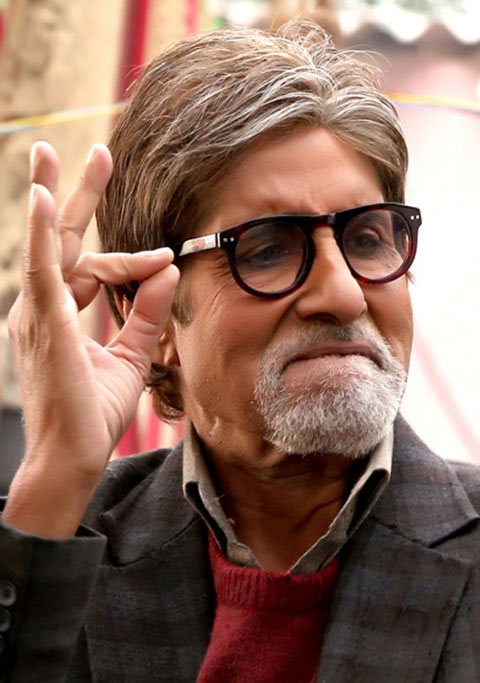 Amitabh Bachchan in Bhootnath Returns