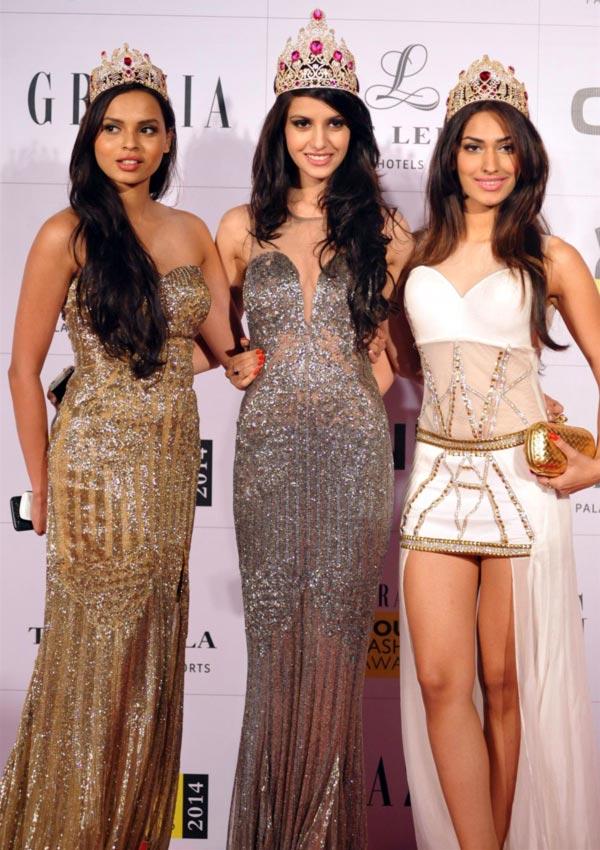 Gail Da Silva, Koyal Rana and Jhataleka Malhotra