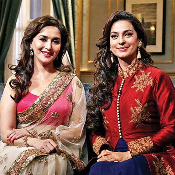 Madhuri Dixit and Juhi Chawla on Koffee With Karan