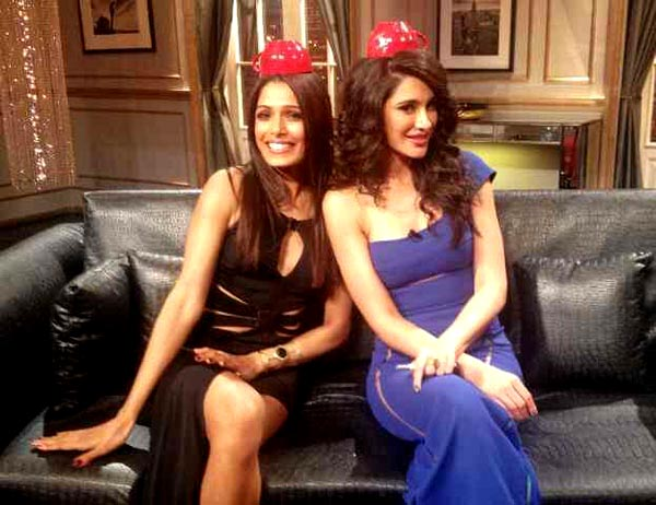 Freida Pinto and Nargis Fakhri on Koffee With Karan