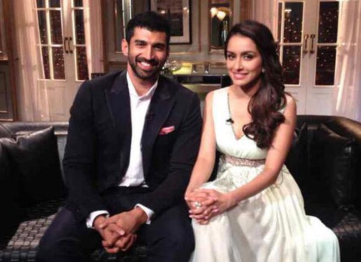 Aditya Roy Kapur and Shraddha Kapoor on Koffee With Karan