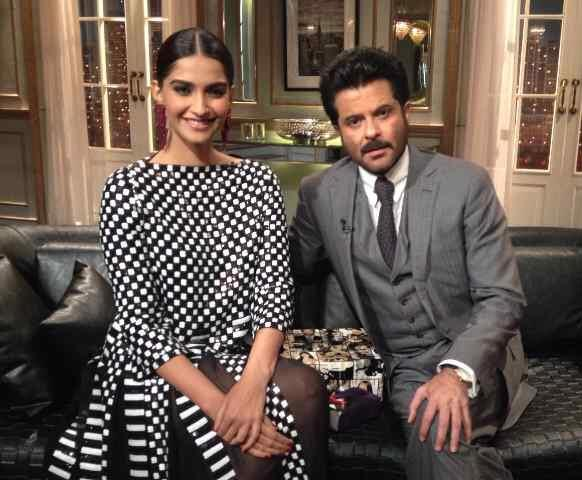 Sonam and Anil Kapoor on Koffee With Karan