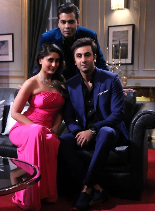 Kareena Kapoor Khan and Ranbir Kapoor on Koffee With Karan