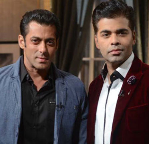 Salman Khan and Karan Johar on Koffee With Karan