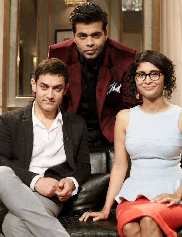 Aamir Khan and Kiran Rao on Koffee With Karan