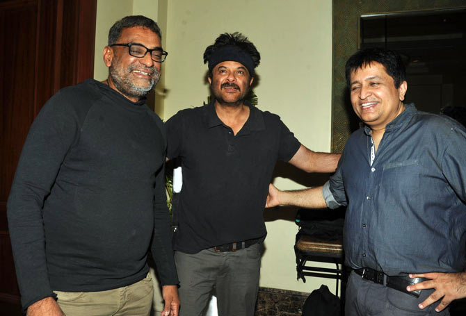 R Balki, Anil Kapoor, Rahul Nanda