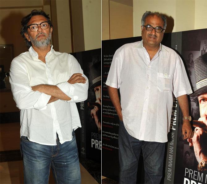 Rakeysh Omprakash Mehra, Boney Kapoor