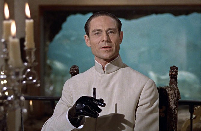 Joseph Wiseman in Dr No