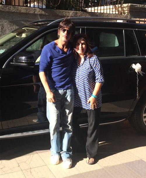 Shah Rukh and Farah Khan