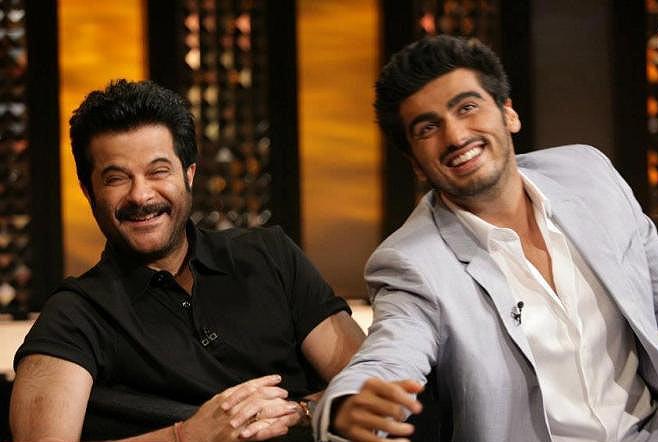 Anil and Arjun Kapoor