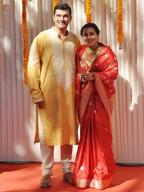 Vidya Balan and Siddharth Roy Kapur.