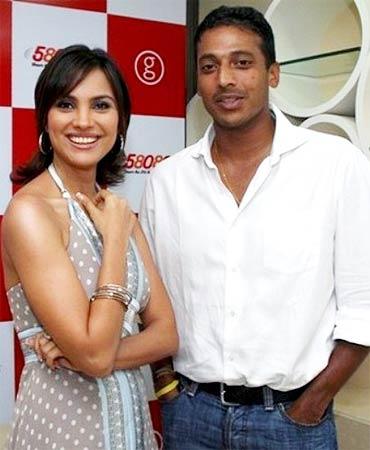 Lara Dutta and Mahesh Bhupati