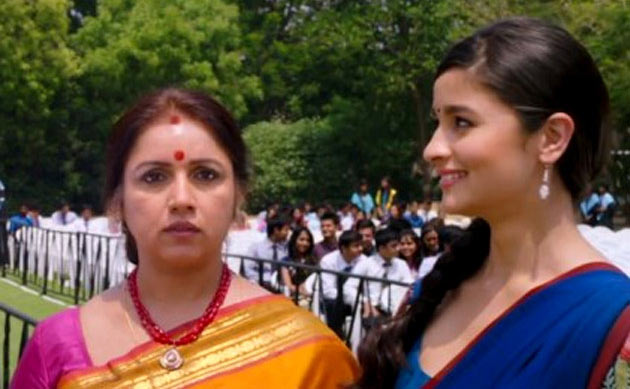 Revathy with Alia Bhatt in 2 States