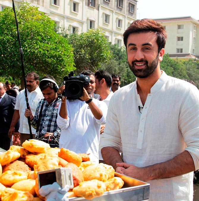 photo if ranbir kapoor was an ordinary person rediff