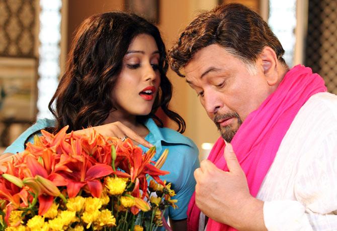 Mishti and Rishi Kapoor in Kaanchi