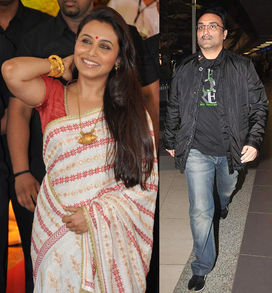 Rani Mukerji and Aditya Chopra