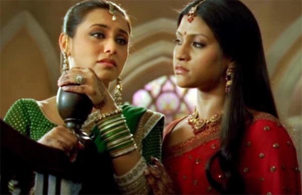 Rani Mukerji and Konkana Sen Sharma Laaga Chunari Mein Daag