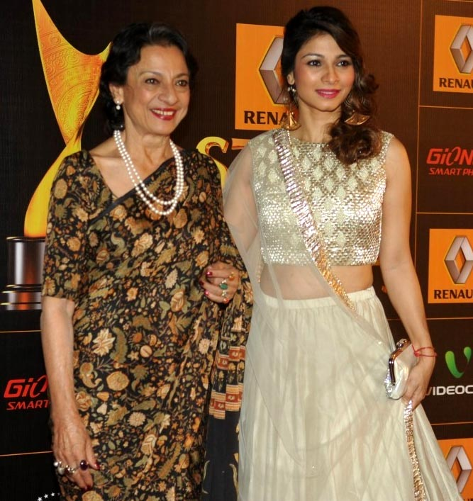 Tanuja and Tanishaa