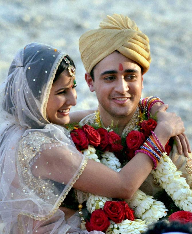 Imran Khan and Katrina Kaif in Mere Brother Ki Dulhan