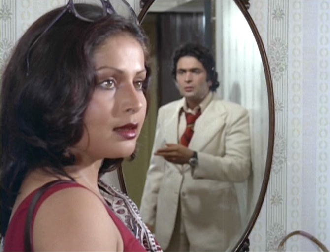 Rakhee and Rishi Kapoor in Doosra Aadmi