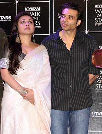Rani Mukerji and Uday Chopra
