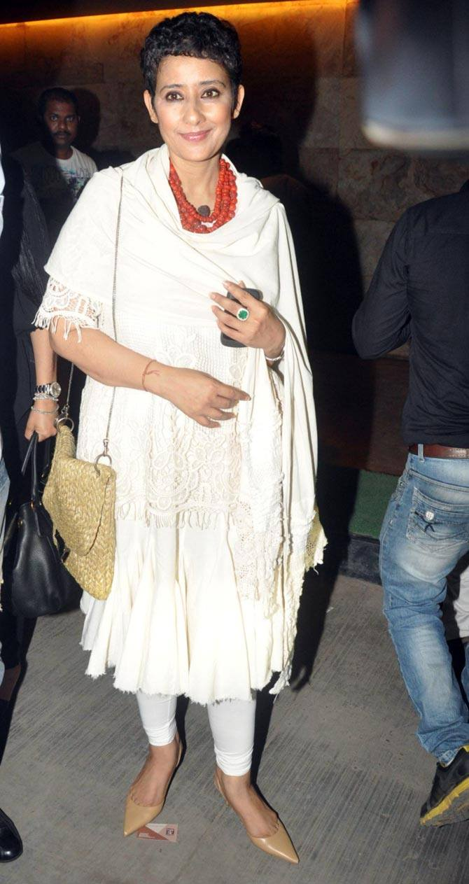 Manisha Koirala at a film screening recently