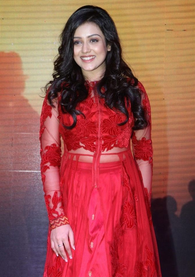 Mishti at the music launch of her debut Hindi film Kaanchi