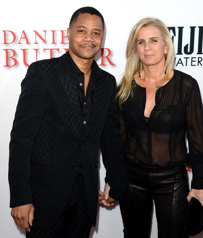 Cuba Gooding Jr 's and Sara Kapfer