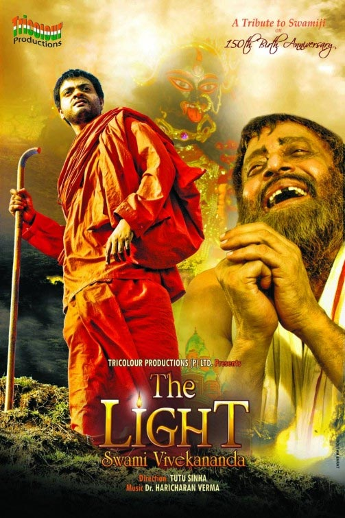 Movie poster of The Light: Swami Vivekanand