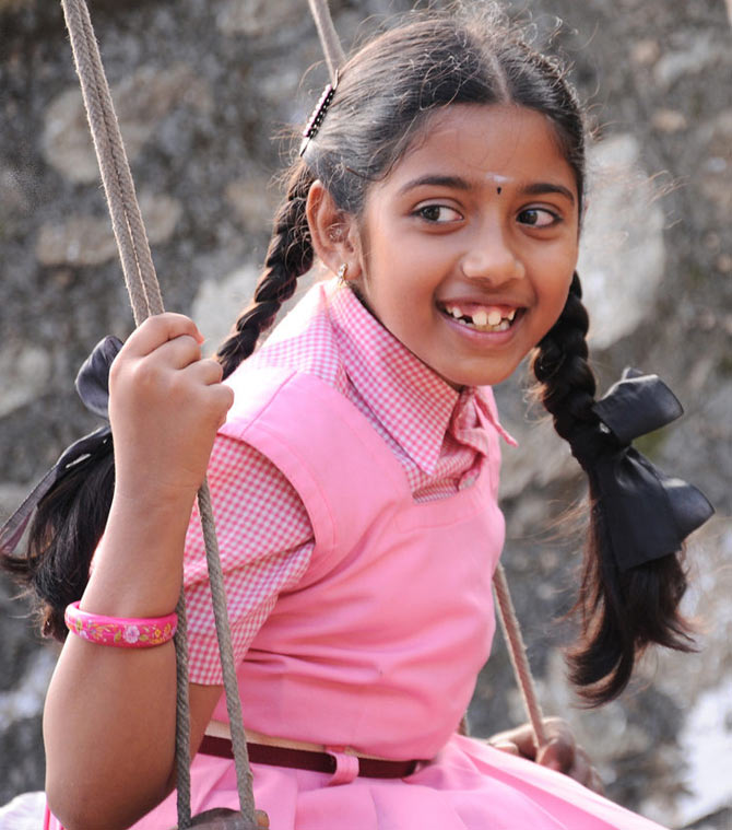 Baby Sadhana in Thanga Meenkal